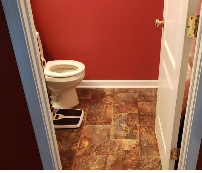 Completed Repairs on Bathroom